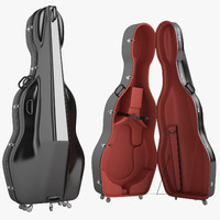 Mammoth Double Bass Case Open 04