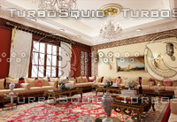 moorish sitting room