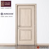ITALON DOORS door with the door handle from the ARCHIE