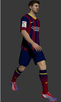 Lionel messi animated