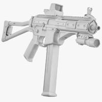 LWRC SMG-45 No Materials
