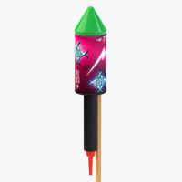 New Year Rocket 02
