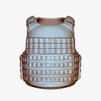 Releasable Modular Vest