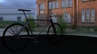 High Poly Race Bike