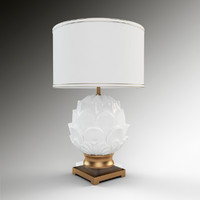 Adan Table Lamp with Drum Shade