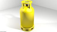 Gas Tank - Cylinder Type 1