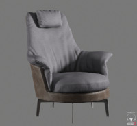 Guscioalto Light Armchair
