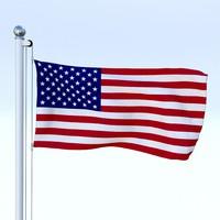 Animated US Flag