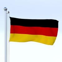 Animated German Flag