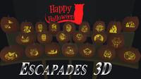 22 Carved Pumpkins