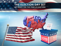 Election 2016 set