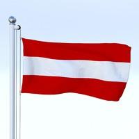 Animated Flag Austria