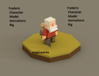Character Woodcutter Frederic