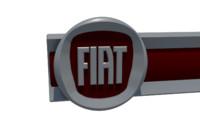 Front panel Fiat dealership