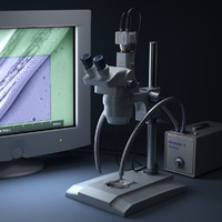 Microscope Electronic