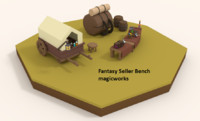 Fantasy Seller Bench