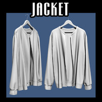 Jacket on hanger 02
