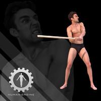 Male Scan - Dan_Muscle Animation