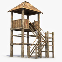 Wooden Guard Tower 9