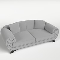 couch sofa pillows 1 3d model