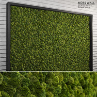Moss Wall (Multiscatter + Forest Pack)