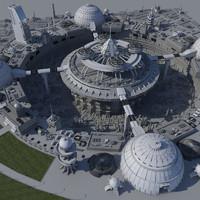 Block Science Fiction City(III)