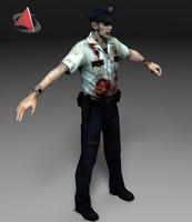 Zombie police