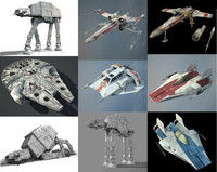Ultimate Game Ready Star Wars Vehicles