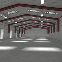 Warehouse Interior And Exterior 2