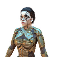 Cyborg Female HD