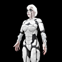 Cyborg Female HD (2)