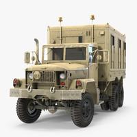 M109 Shop Van Desert Rigged