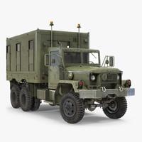 M109 Shop Van Rigged