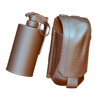 Grenade Handle Sig Smoke and Pouch