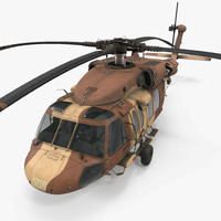 Sikorsky UH-60 Black Hawk Military Israel Utility Helicopter