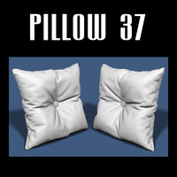 3d model of pillow interiors