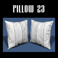 pillow interiors 3d obj