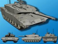 Leopard II Main Battle Tank