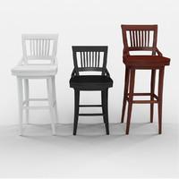 Stanley Furniture Fairlane Swivel Bar Stool
