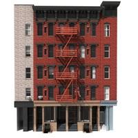 New York Building facade