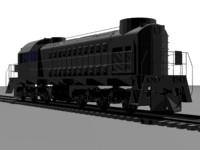Train locomotive TEM2