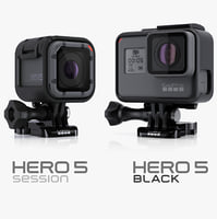 GoPro HERO5 Black and Session