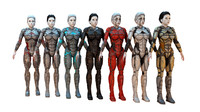 Cyborg Female HD PACK