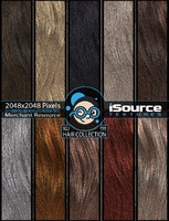 Hair Collection - Vol1(PBR Textures)
