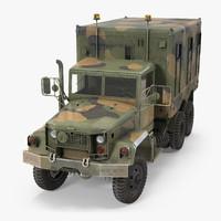 US Truck M109 Shop Van Rigged