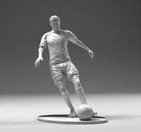 Footballer footstrike 02