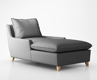 Bliss Down-Filled Chaise by West Elm