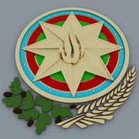 coat of  of Azerbaijan