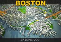 Boston skyline vol1