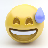 Emoji sweet smile